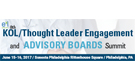 KOL/Thought Leader Engagement and Advisory Boards Summit