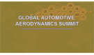 Global Automotive Aerodynamics Summit